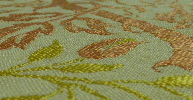 Golden Bough textile detail